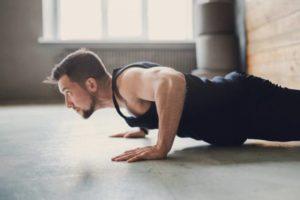 Планка,эффективное упражнение для всех групп мышц