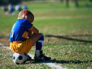 Детская нагрузка иной раз не уступает взрослой