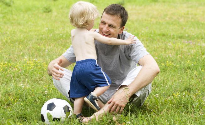 Занимаемся спортом с ребенком