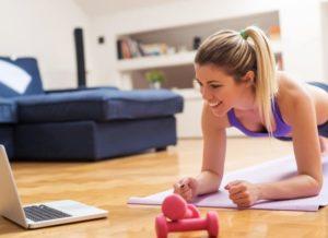Ваш личный онлайн фитнес тренер всегда с вами.