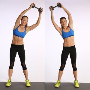 Упражнения с гантелями для девушки