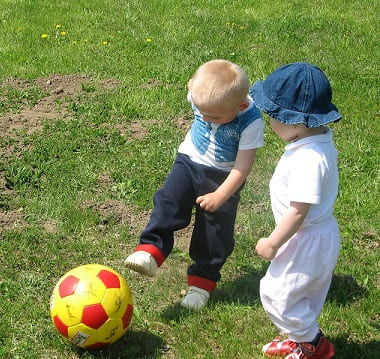 Малыши и спорт