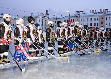 Юные хоккеисты