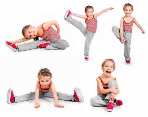 Упражнения для детской зарядки