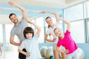 Зарядка для всей семьи – это возможность и улучшить физическую форму, и провести время вместе