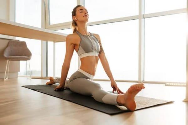 Развивайте гибкость, чтобы освоить позу лотоса