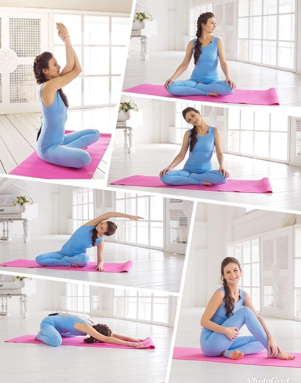 Утренние асаны йоги